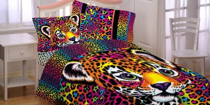 Lisa frank bed sheets are here so your home decor can pay for Home decor 90s